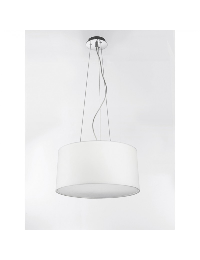 PERENZ: Lampada da soffitto a sospensione con paralume in stoffa in offerta