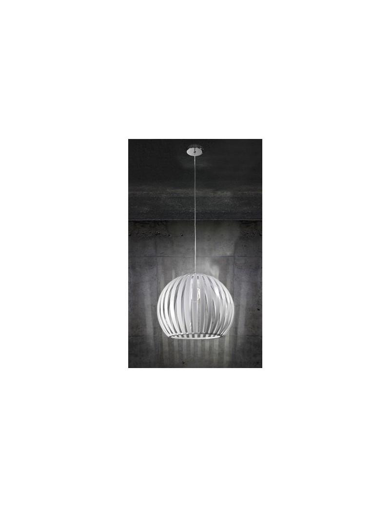 PERENZ: Sospensione in acrilico bianco sfera 30cm in offerta