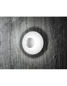 6108 B PLAFONIERA PARTICOLARE GRANDE METALLO BIANCO LED PERENZ