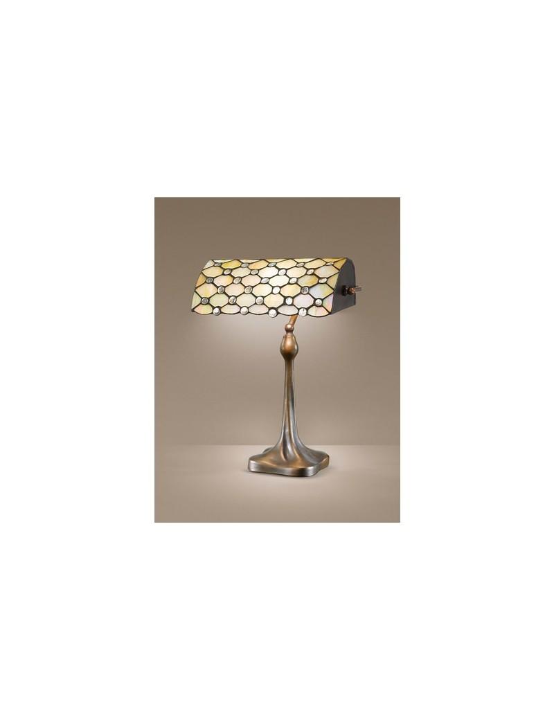 PERENZ: Tiffany t974l lampada da tavolo vetri lavorati a mano 70cm in offerta