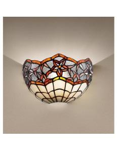 PERENZ: Tiffany t966 lampada applique da parete con motivo floreale in offerta