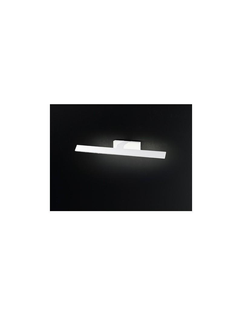 PERENZ: Applique LED in metallo lineare bianca 53cm in offerta