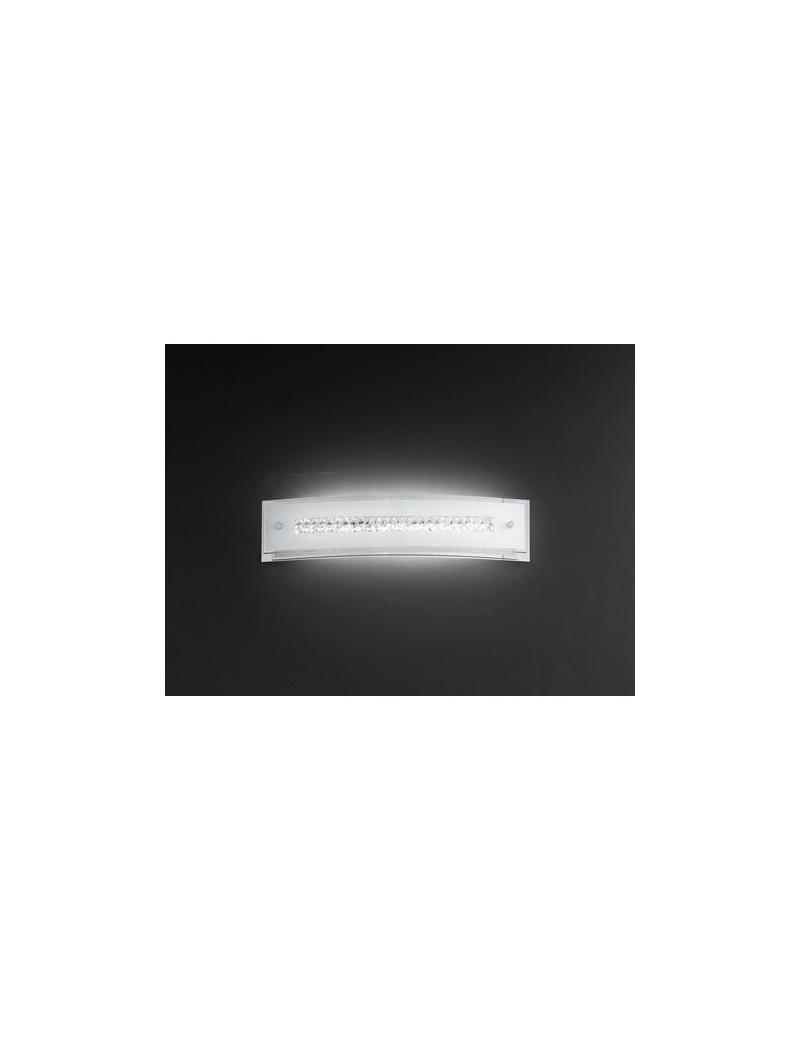PERENZ: Applique LED vetro e cristalli classico elegante rettangolare in offerta