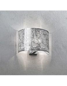PERENZ: Applique da parete lamina acciaio disegno decorativo foglie in offerta