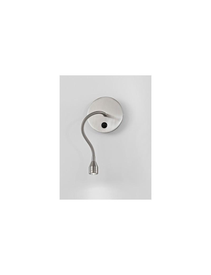 PERENZ: Applique LED flessibile parete snodabile cromo spazzolato in offerta