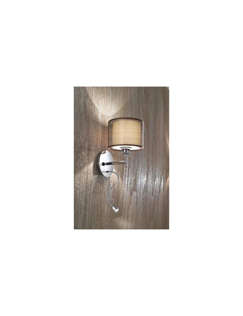 Applique con paralume e luce lettura led perenz perenz 5977 camera - Lampade da lettura a letto ...