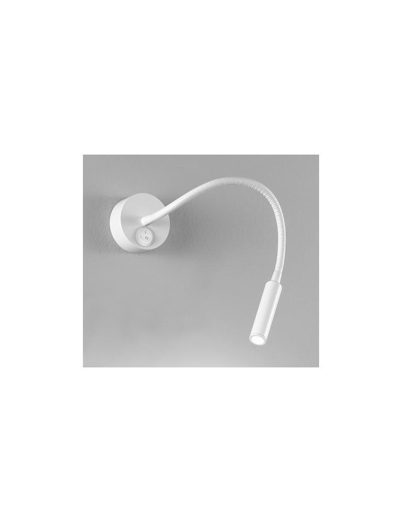 PERENZ: Applique LED flessibile metallo bianco da lettura in offerta