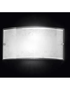 PERENZ: Applique in vetro decorato decoro bianco in offerta