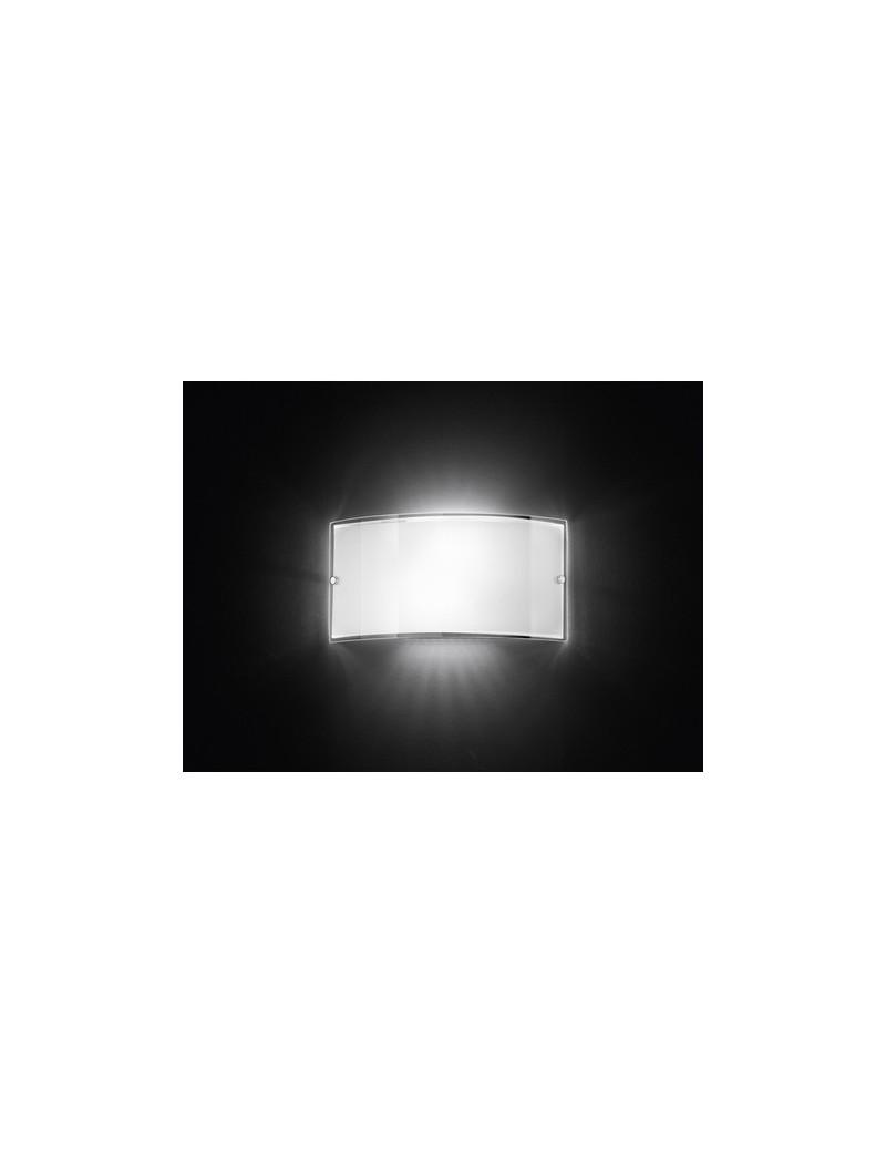 PERENZ: Applique in vetro bianco perenz classico semplice in offerta
