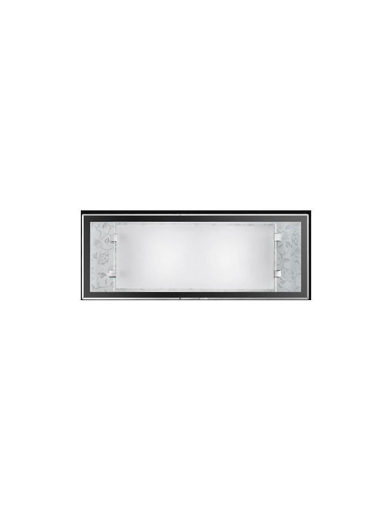 PERENZ: Applique da parete vetro con decoro bianco in offerta
