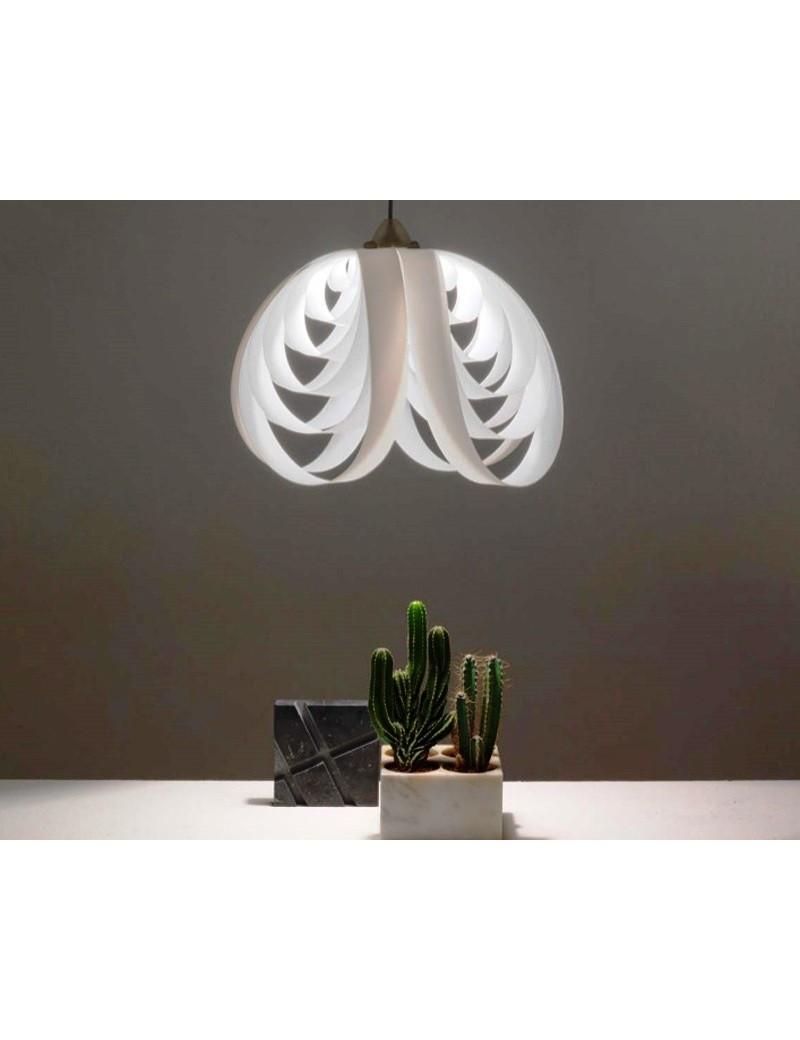 LINEAZERO: Moonlight lampada moderna sospensione design bianco luminoso in offerta