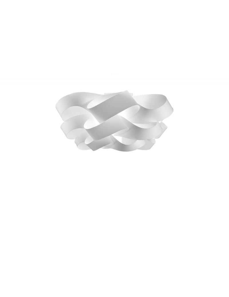 LINEAZERO: Cloud plafoniera bianco dal design morbido e avvolgente scenico 40cm in offerta
