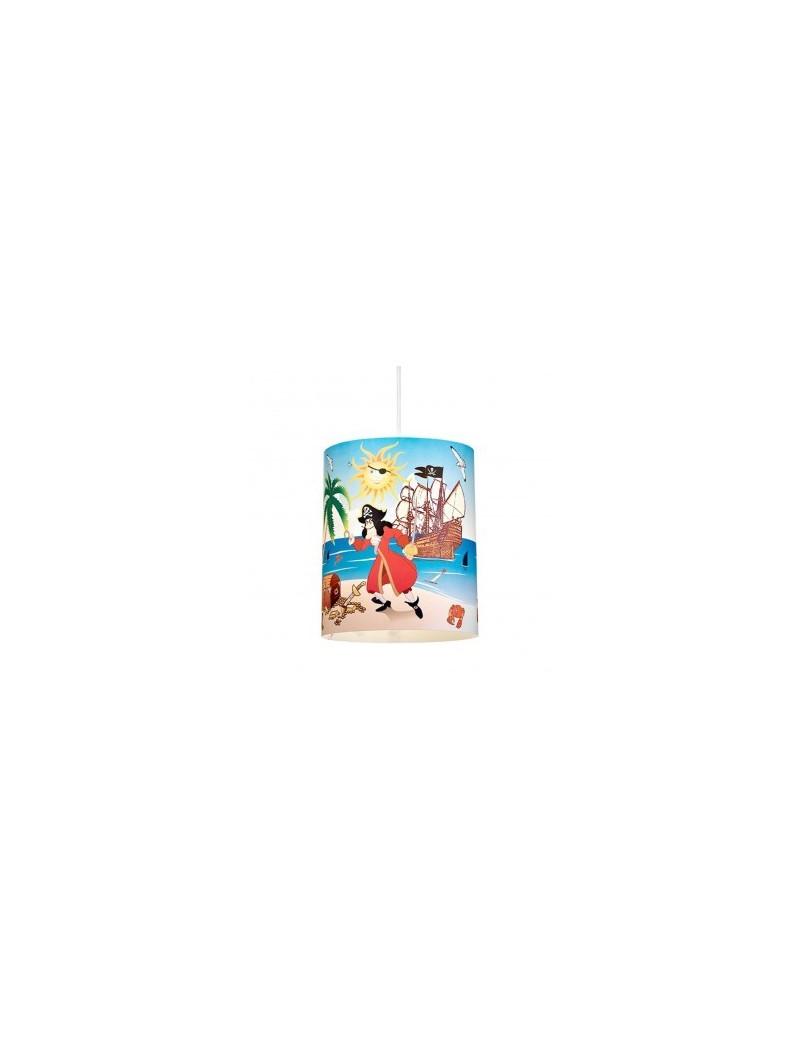 LINEAZERO: Pirati lampada sospensione per cameretta bambini design isola uncino in offerta