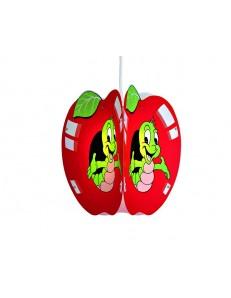 apple mela rossa lampada sospensione cameretta bambini bimbo bimba