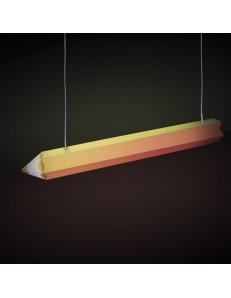 LINEAZERO: Matita multicolore lampada sospensione cameretta bambini LED integrato in offerta