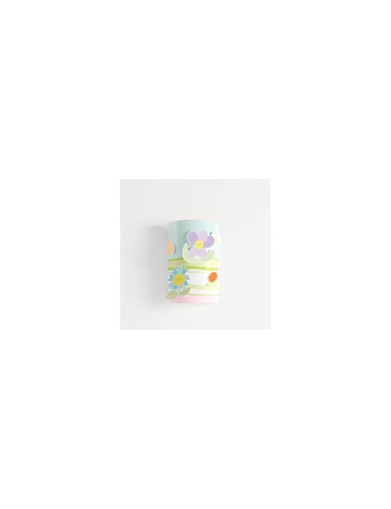 fiori primavera lampada applique cameretta bambini bimbi