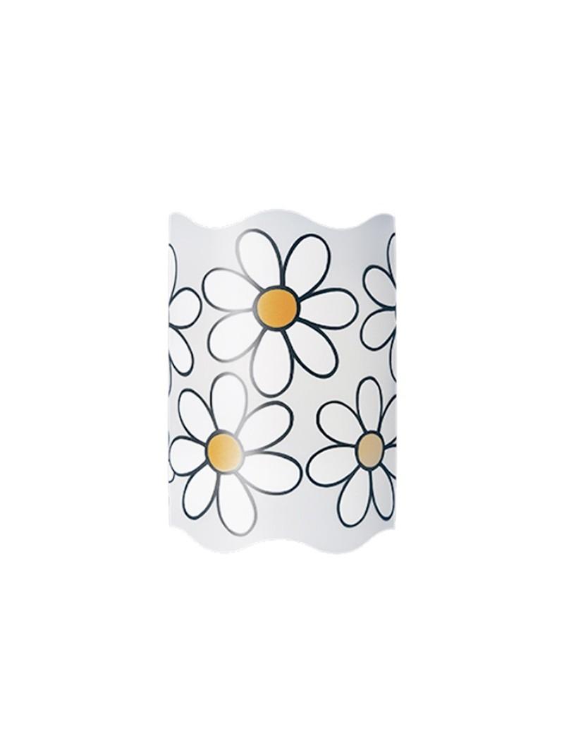 Margherita lampada cameretta bambini fiore applique parete for Applique camera bambini