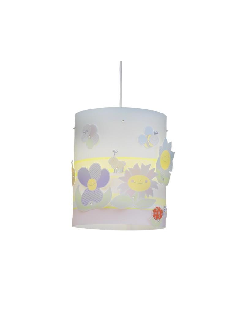 Fiori big primavera lampada sospensione cameretta bambini for Applique cameretta bimbi