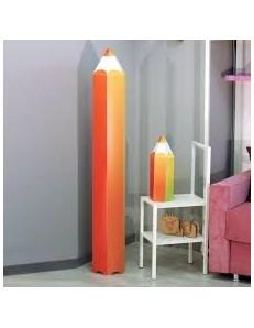 Matita multicolore lampada cameretta bambini piantana bambino camera
