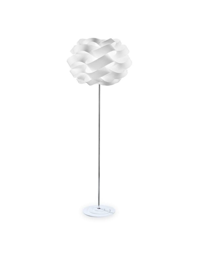 LINEAZERO: Cloud piantana bianco dal design morbido e avvolgente scenico h 175cm in offerta