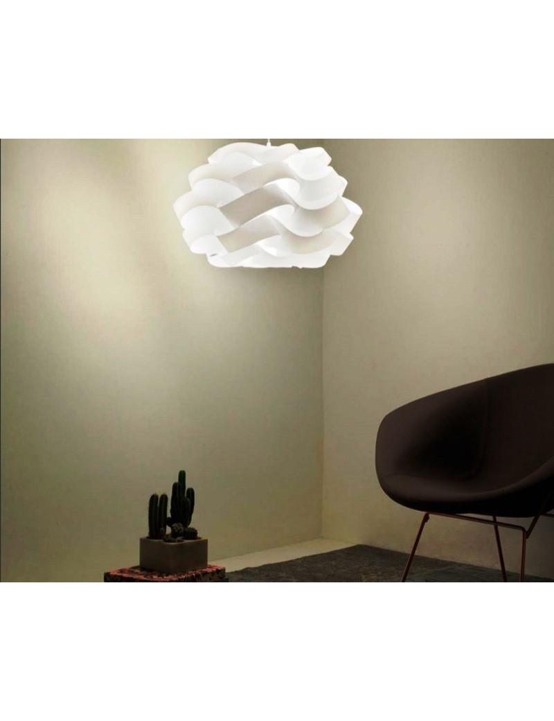 LINEAZERO: Cloud sospensione dal design morbido e avvolgente scenico bianco 100cm in offerta