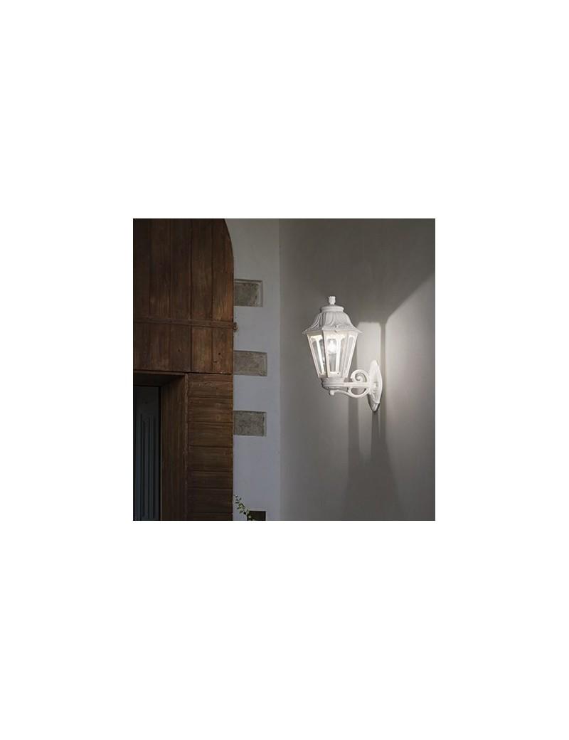 IDEAL LUX: Anna applique illuminazione giardino resina bianco anti ingiallimento in offerta