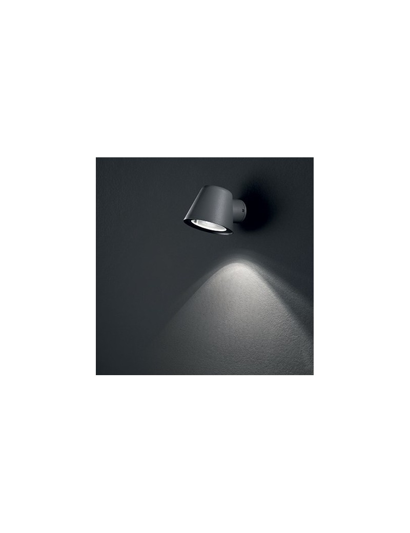 IDEAL LUX: Gas gu10 IP43 faretto da esterno antracite alluminio in offerta