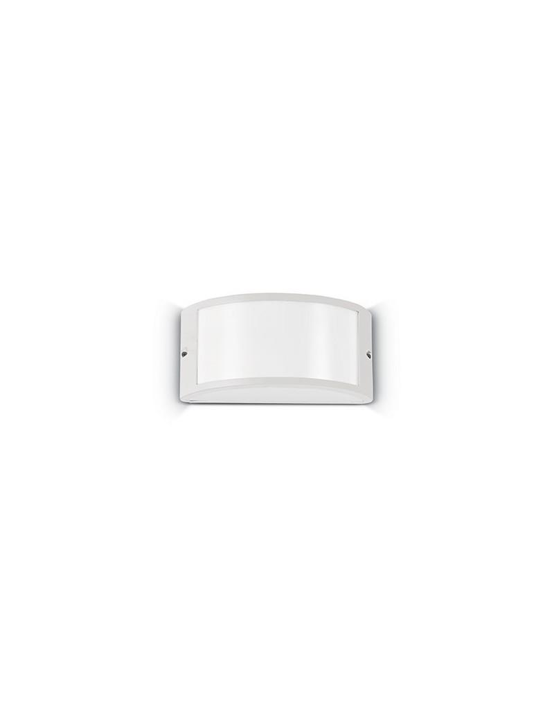 IDEAL LUX: Rex-1 ap1 applique illuminazione per esterno alluminio bianco in offerta