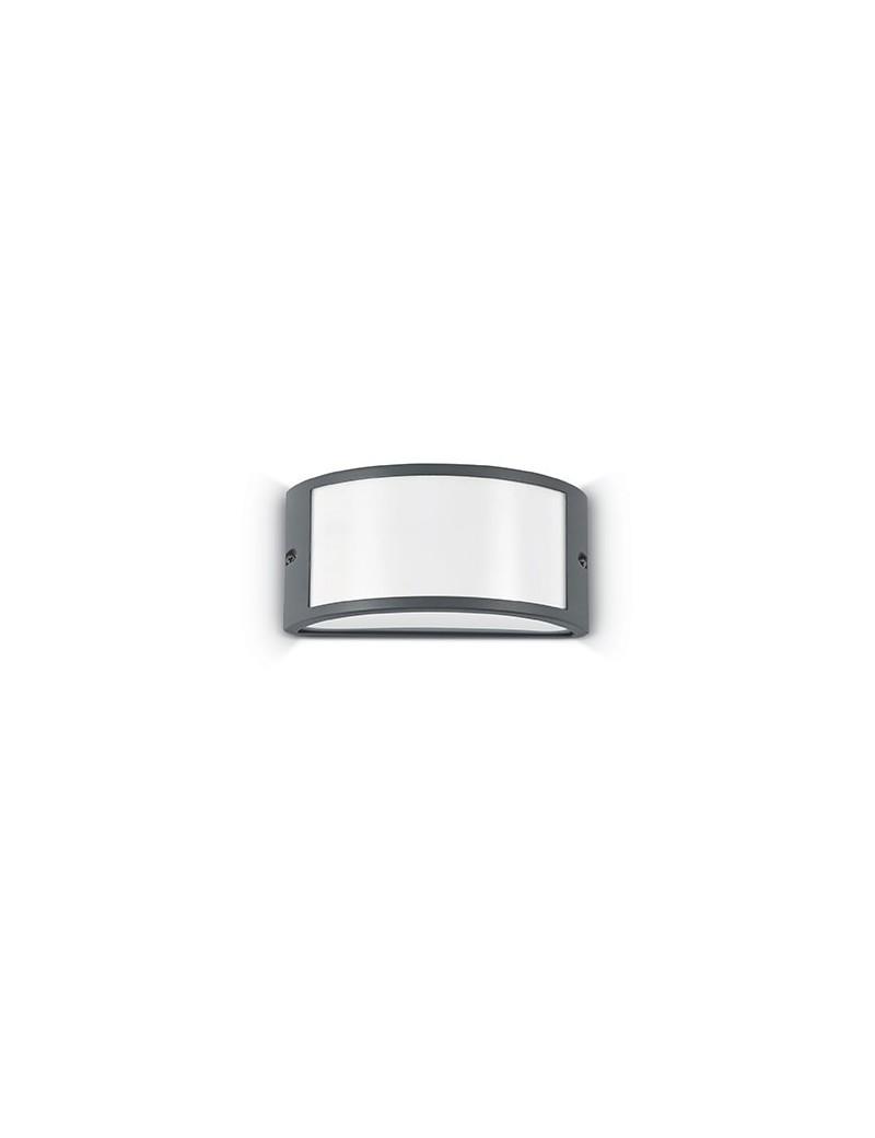 IDEAL LUX: Rex-1 ap1 applique illuminazione giardino alluminio antracite in offerta