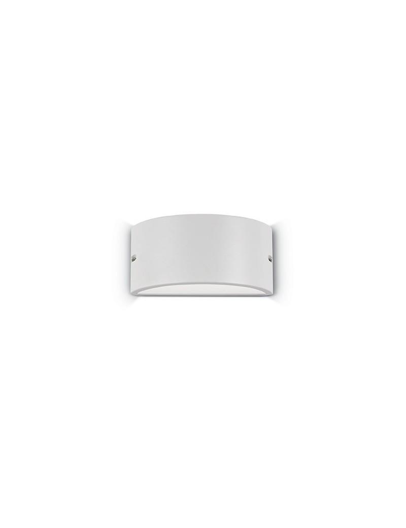 IDEAL LUX: Rex-2 ap1 applique illuminazione per esterno alluminio bianco in offerta