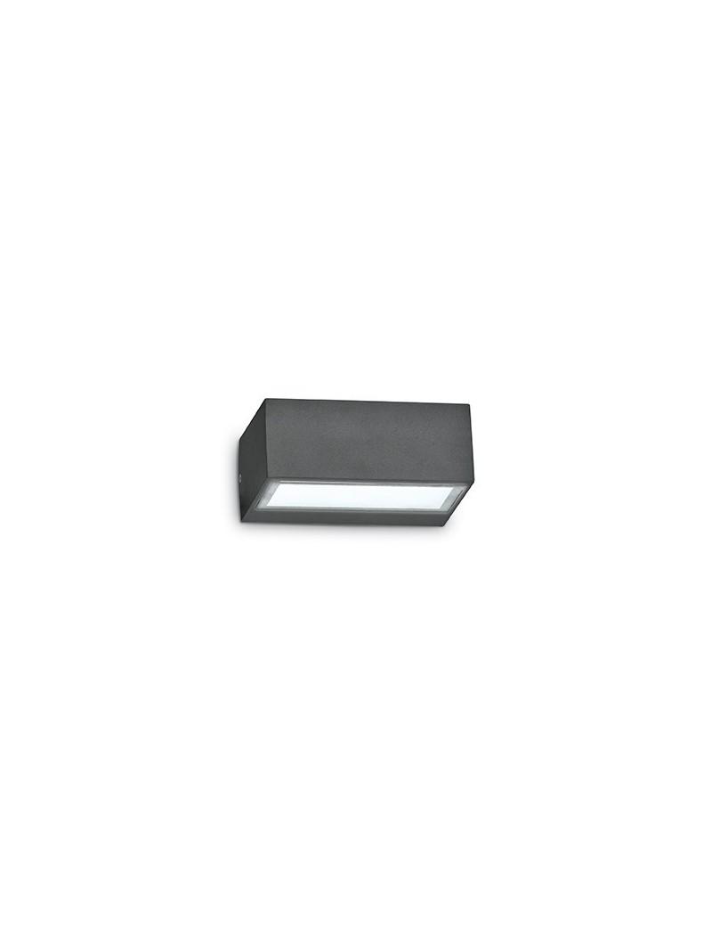 IDEAL LUX: Twin ap1 applique doppio diffusore giardino esterno alluminio antracite in offerta
