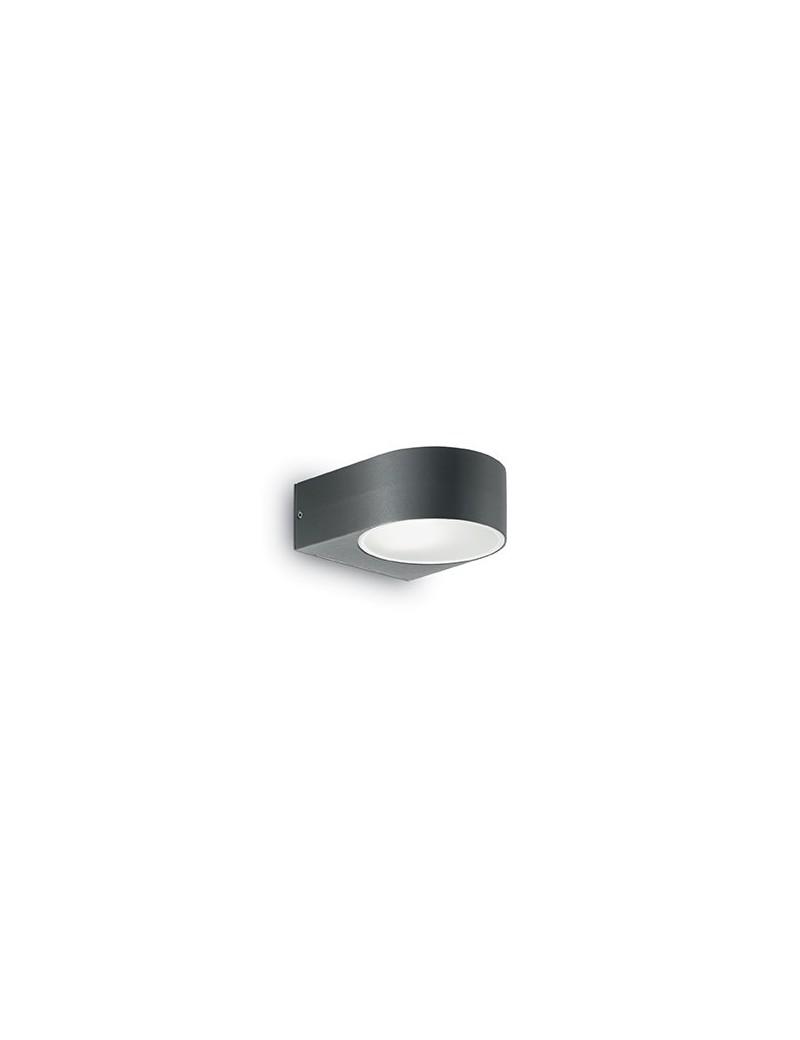 IDEAL LUX: IKO AP1 Applique giardino esterno alluminio nero in offerta