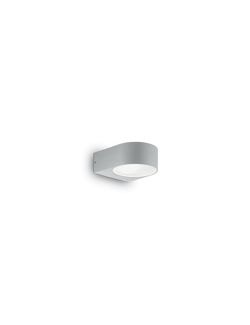 IDEAL LUX: Iko ap1 applique illuminazione per esterno alluminio grigio in offerta