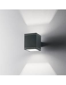 IDEAL LUX: Snif applique per esterno alluminio doppio diffusore quadrato antracite in offerta