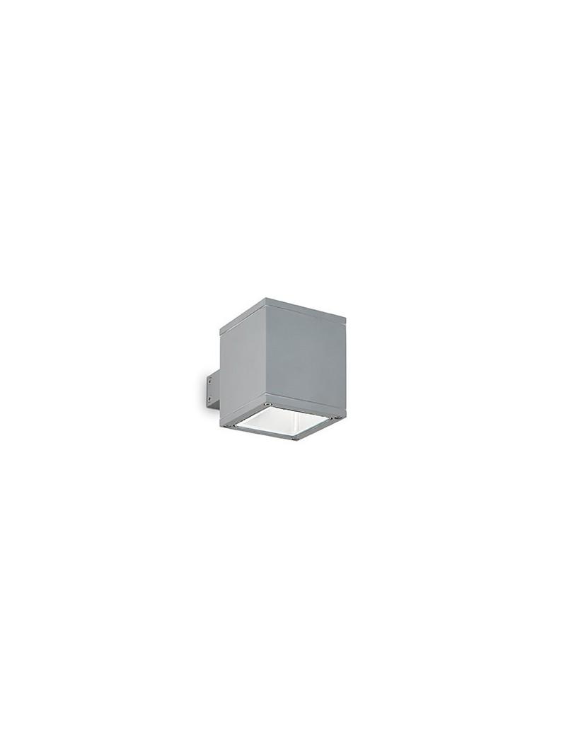 IDEAL LUX: Snif applique esterno giardino alluminio doppio diffusore quadrato grigio in offerta