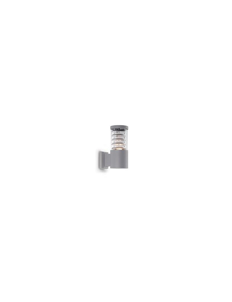 IDEAL LUX: Tronco applique per giardino in alluminio grigio diffusore pyrex in offerta