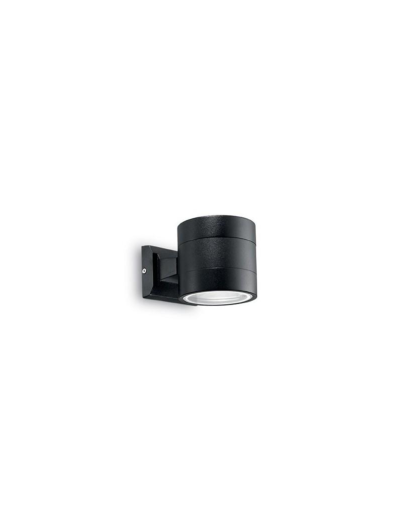 IDEAL LUX: Snif ap1 round applique esterno giardino doppio diffusore nero rotonda in offerta