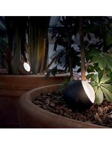 ZENITH led 30 cm alluminio paletto giardino luce orientabile antracite