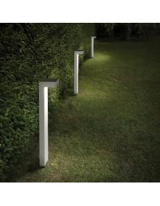 IDEAL LUX: Sirio pt2 small paletto illuminazione giardino bianco 60cm in offerta