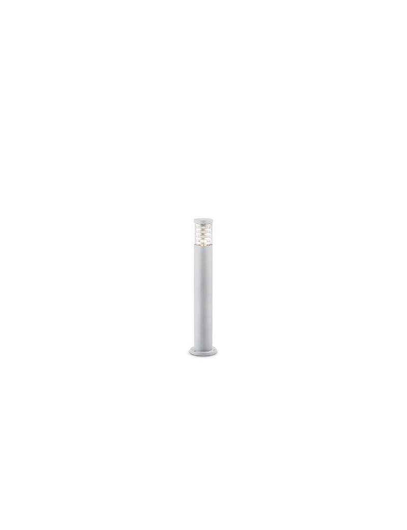 IDEAL LUX: Tronco pt1 paletto illuminazione giardino alluminio bianco 80cm in offerta