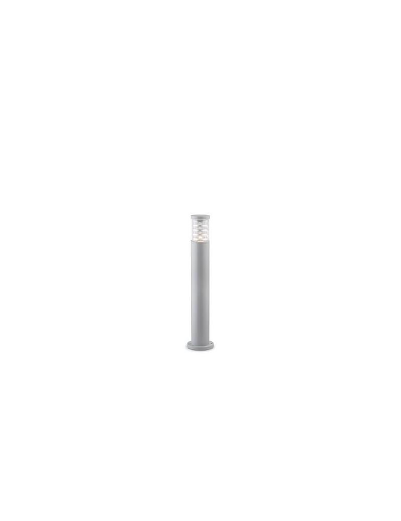 IDEAL LUX: Tronco pt1 paletto illuminazione giardino alluminio grigio 80cm in offerta