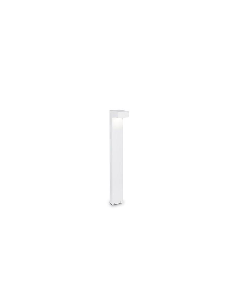 IDEAL LUX: Sirio pt2 big paletto illuminazione giardino bianco 80cm in offerta