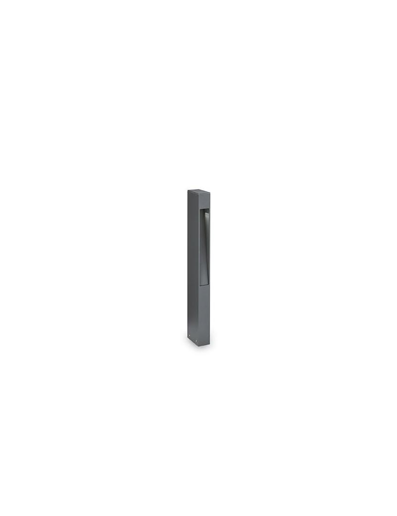 IDEAL LUX: Mercurio pt1 paletto alluminio antracite vetro pirex 60cm in offerta