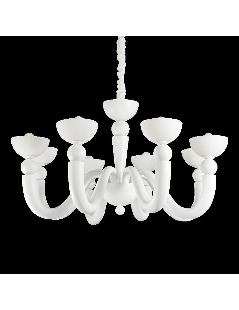 IDEAL LUX: Bon bon sp8 lampadario sospensione fusione bianco ideal lux new 2017 in offerta
