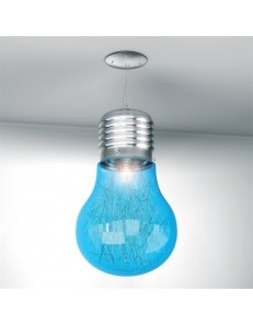 BIG LAMP BLU SOSPENSIONE CAMERETTA TOP LIGHT ILLUMINAZIONE