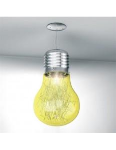 BIG LAMP GIALLA SOSPENSIONE CAMERETTA TOP LIGHT ILLUMINAZIONE
