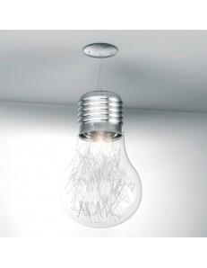 BIG LAMP TRASPARENTE SOSPENSIONE CAMERETTA TOP LIGHT ILLUMINAZIONE