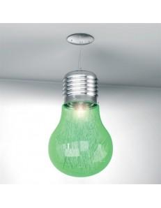 BIG LAMP VERDE SOSPENSIONE CAMERETTA TOP LIGHT ILLUMINAZIONE