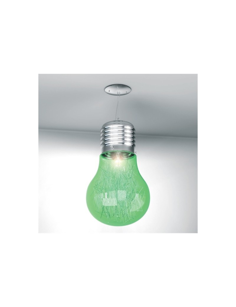TOP LIGHT: Big lamp sospensione verde per cameretta in offerta