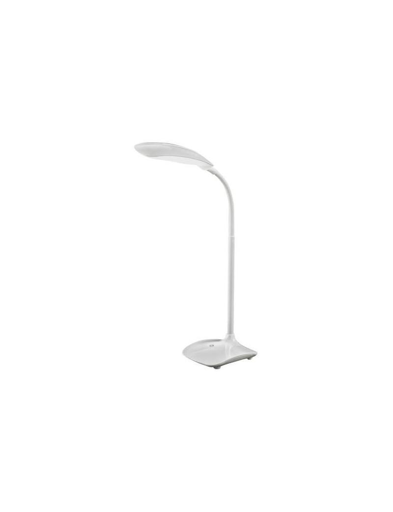 PERENZ: Lampada LED da tavolo flessibile bianca in offerta